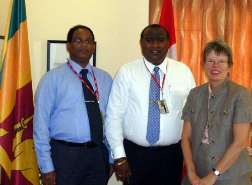 FCCISL Chief pays a courtesy call on High Commissioner of Canada in Sri Lanka and the Maldives