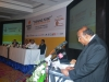 "Mr. Ajith Watthuhewa –""President FCCISL"" is seen here addressing the gathering"